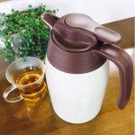 卓上保温ポットのおすすめ おしゃれで洗いやすい!保温力抜群・持ち運びに便利なステンレスお茶ポット